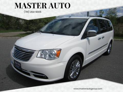 2011 Chrysler Town and Country for sale at Master Auto in Revere MA