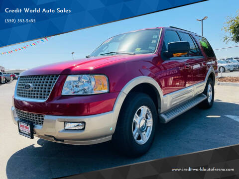 2006 Ford Expedition for sale at Credit World Auto Sales in Fresno CA