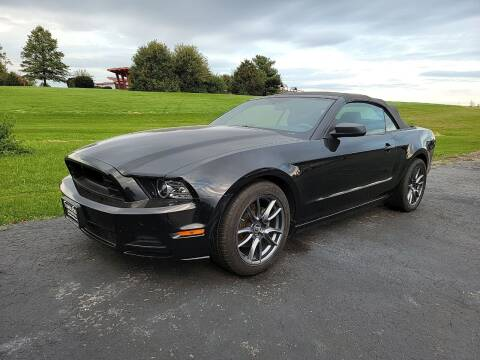 2014 Ford Mustang for sale at Tumbleson Automotive in Kewanee IL