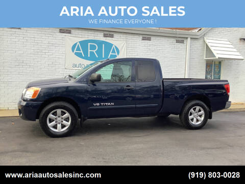 2009 Nissan Titan for sale at ARIA  AUTO  SALES in Raleigh NC