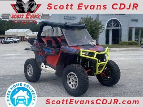 2016 Polaris RZR for sale at SCOTT EVANS CHRYSLER DODGE in Carrollton GA