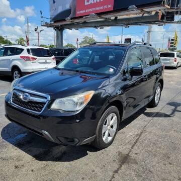 2014 Subaru Forester for sale at America Auto Wholesale Inc in Miami FL