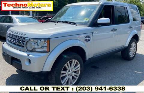 2011 Land Rover LR4 for sale at Techno Motors in Danbury CT