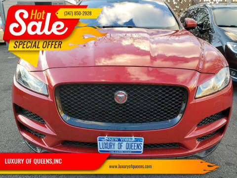 2017 Jaguar F-PACE for sale at LUXURY OF QUEENS,INC in Long Island City NY