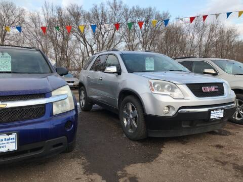 2010 GMC Acadia for sale at BARNES AUTO SALES in Mandan ND