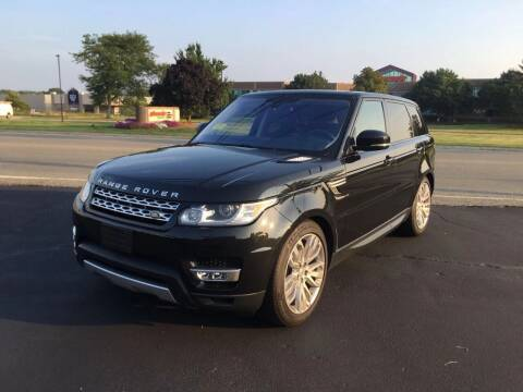 2016 Land Rover Range Rover Sport for sale at Lux Car Sales in South Easton MA