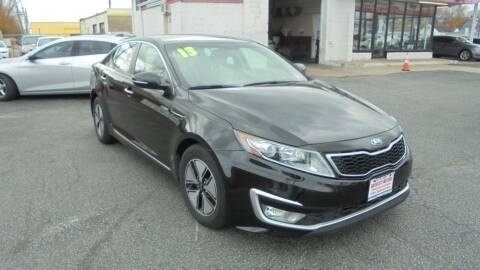 2013 Kia Optima Hybrid for sale at Absolute Motors in Hammond IN