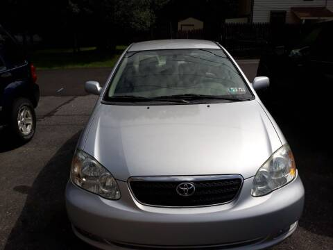 2005 Toyota Corolla for sale at GALANTE AUTO SALES LLC in Aston PA