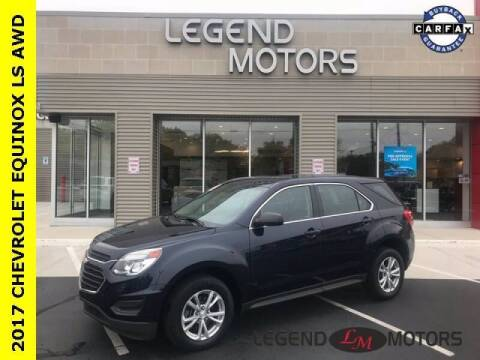 2017 Chevrolet Equinox for sale at Legend Motors of Detroit - Legend Motors of Waterford in Waterford MI