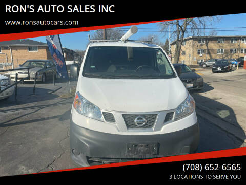 2013 Nissan NV200 for sale at RON'S AUTO SALES INC in Cicero IL