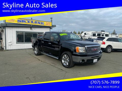 2012 GMC Sierra 1500 for sale at Skyline Auto Sales in Santa Rosa CA