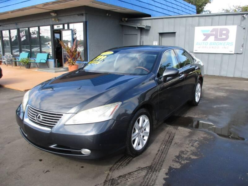 2009 Lexus ES 350 for sale at AUTO BROKERS OF ORLANDO in Orlando FL
