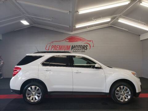2010 Chevrolet Equinox for sale at Premium Motors in Villa Park IL