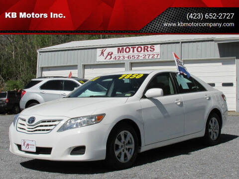 2011 Toyota Camry for sale at KB Motors Inc. in Bristol VA