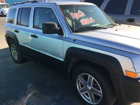 2007 Jeep Patriot for sale at HUM MOTORS in Caldwell ID