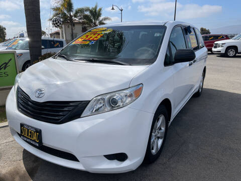 2013 Toyota Sienna for sale at Soledad Auto Sales in Soledad CA