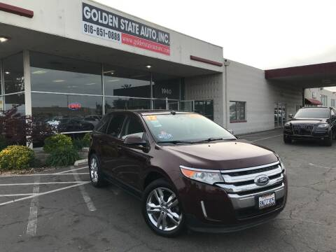 2012 Ford Edge for sale at Golden State Auto Inc. in Rancho Cordova CA