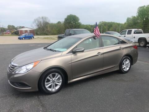 2014 Hyundai Sonata for sale at Mikes Auto Sales INC in Forest City NC