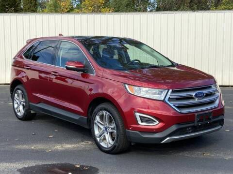 2015 Ford Edge for sale at Miller Auto Sales in Saint Louis MI
