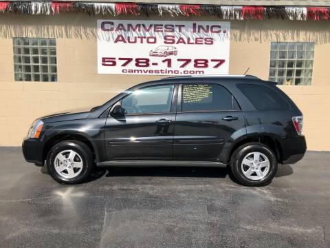 2008 Chevrolet Equinox for sale at Camvest Inc. Auto Sales in Depew NY