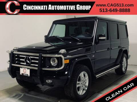 2011 Mercedes-Benz G-Class for sale at Cincinnati Automotive Group in Lebanon OH