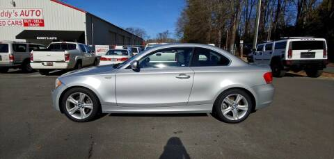 2012 BMW 1 Series for sale at Buddy's Auto Inc in Pendleton SC