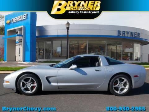 2000 Chevrolet Corvette for sale at BRYNER CHEVROLET in Jenkintown PA