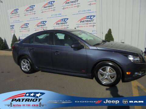 2014 Chevrolet Cruze for sale at PATRIOT CHRYSLER DODGE JEEP RAM in Oakland MD