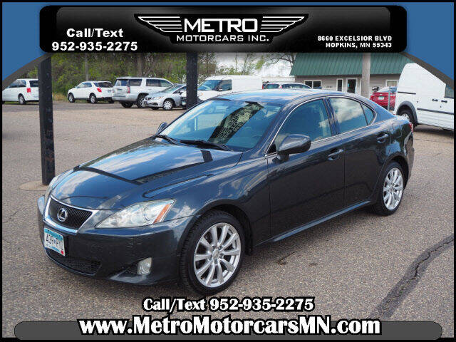 2008 Lexus IS 250 for sale at Metro Motorcars Inc in Hopkins MN