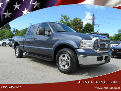 2005 Ford F-250 Super Duty for sale at ARENA AUTO SALES,  INC. in Holly Hill FL