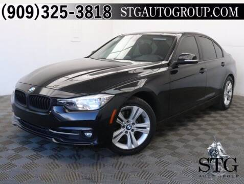 2016 BMW 3 Series for sale at STG Auto Group in Montclair CA