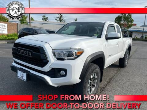 2017 Toyota Tacoma for sale at Auto 206, Inc. in Kent WA