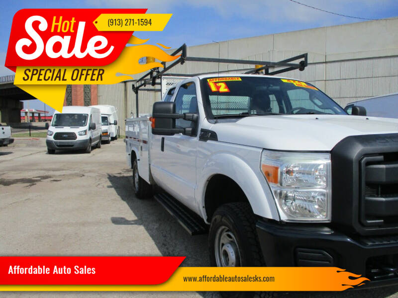 2012 Ford F-350 Super Duty for sale at Affordable Auto Sales in Olathe KS