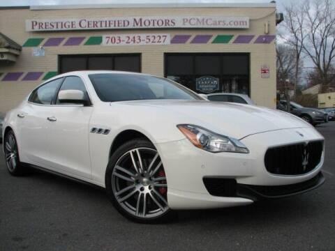 2016 Maserati Quattroporte for sale at Prestige Certified Motors in Falls Church VA