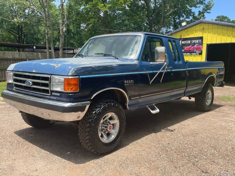 1991 Ford F-250 for sale at M & J Motor Sports in New Caney TX