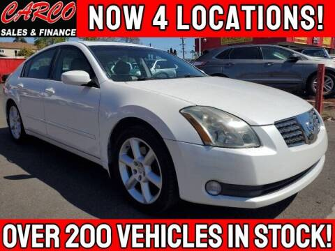 2005 Nissan Maxima for sale at CARCO SALES & FINANCE #3 in Chula Vista CA