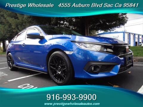 2016 Honda Civic for sale at Prestige Wholesale in Sacramento CA