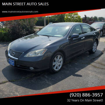 2008 Lexus ES 350 for sale at MAIN STREET AUTO SALES in Neenah WI
