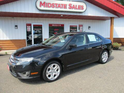 2010 Ford Fusion for sale at Midstate Sales in Foley MN