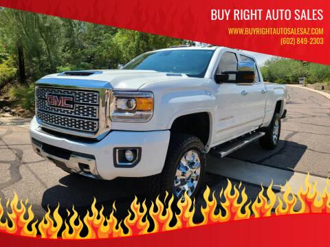2019 GMC Sierra 2500HD for sale at BUY RIGHT AUTO SALES in Phoenix AZ