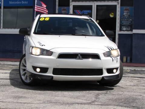 2008 Mitsubishi Lancer for sale at VIP AUTO ENTERPRISE INC. in Orlando FL