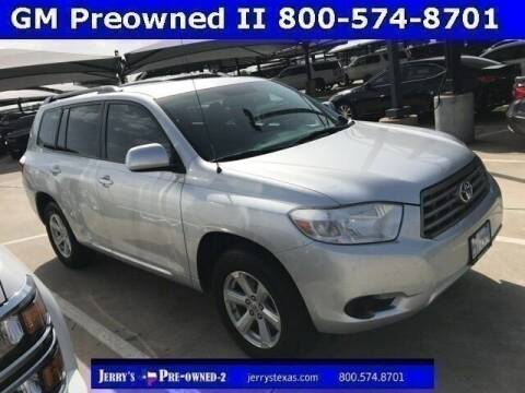 2010 Toyota Highlander for sale at Jerry's Buick GMC in Weatherford TX