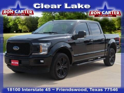 2019 Ford F-150 for sale at Ron Carter  Clear Lake Used Cars in Houston TX