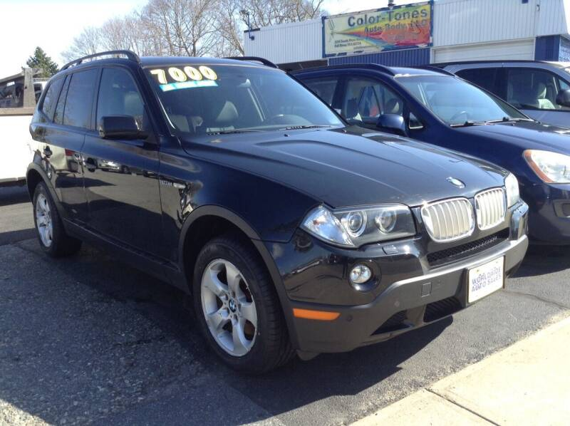 2008 BMW X3 for sale at Worldwide Auto Sales in Fall River MA