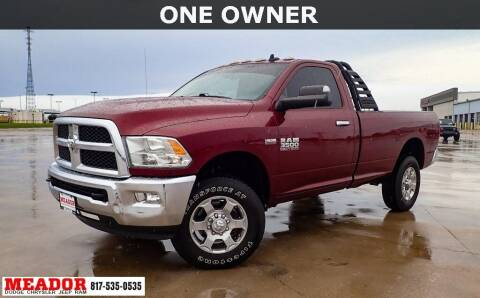2017 RAM Ram Pickup 3500 for sale at Meador Dodge Chrysler Jeep RAM in Fort Worth TX