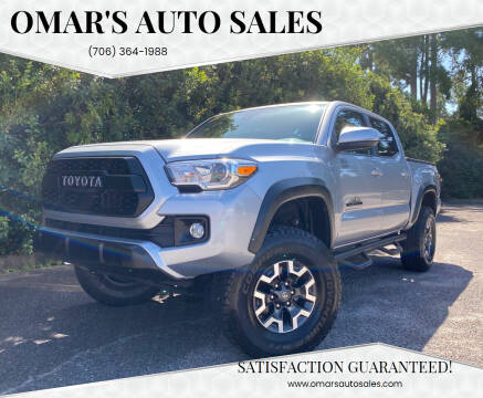 2019 Toyota Tacoma for sale at Omar's Auto Sales in Martinez GA