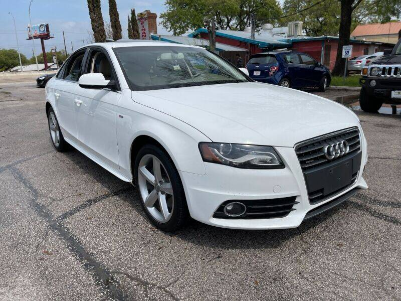 2012 Audi A4 for sale at AWESOME CARS LLC in Austin TX
