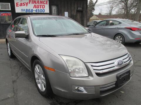 2008 Ford Fusion for sale at EZ Finance Auto in Calumet City IL