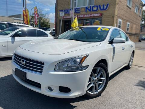 2010 Nissan Maxima for sale at Drive Now Autohaus in Cicero IL