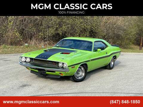 1970 Dodge Challenger for sale at MGM CLASSIC CARS in Addison IL
